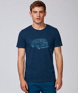 T-Shirt mit Motiv / Retrobus - Kultgut