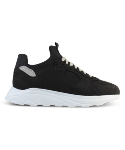 Larch Black Vegan - ekn footwear
