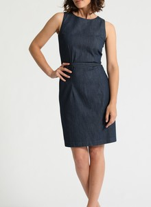 Kim Shiftdress aus LIGHT DENIM in classic blue - Feuervogl