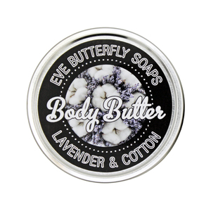 "Shea Body Butter ""Lavender & Cotton"" - Eve Butterfly Soaps"