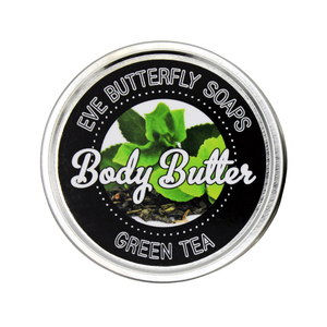 "Shea Body Butter ""Green Tea"" - Eve Butterfly Soaps"