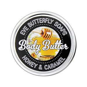 "Shea Body Butter ""Honey & Caramel"" - Eve Butterfly Soaps"