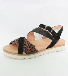Flecht Sandale mit Fußbett - Ottavia  - Werner Schuhe