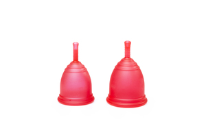 Ruby Cup Menstruationstasse 2er-Pack - Ruby Cup