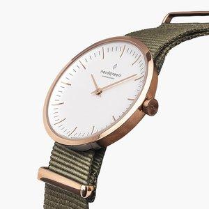 Armbanduhr InfinityRoségold - Nylonarmband - Nordgreen Copenhagen