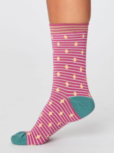 Socken – Gilly Spot Socks - Thought
