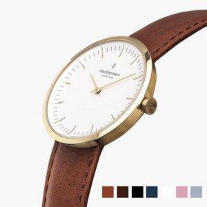 Armbanduhr InfinityGold - Italienisches Lederarmband  - Nordgreen Copenhagen