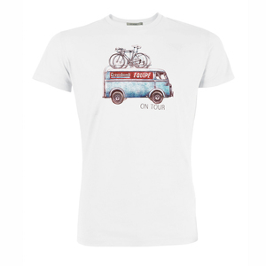 T-Shirt Guide Bike On Tour - GreenBomb
