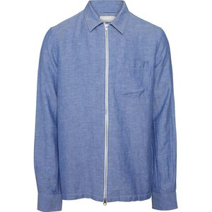 Two Toned Twill Overshirt GOTS - KnowledgeCotton Apparel