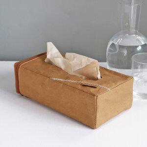 Kosmetiktücherbox aus Papier, inkl. 80 Tücher - Zuperzozial