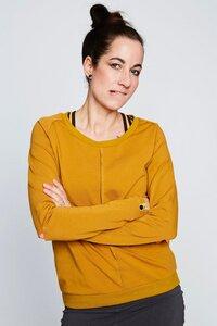 Pullover Langarmshirt Damen Ellenbogenschlitz  BeeBee - BeeBee