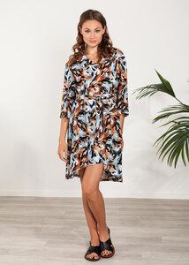 Sommerkleid kurz Viskose bunt - SinWeaver alternative fashion