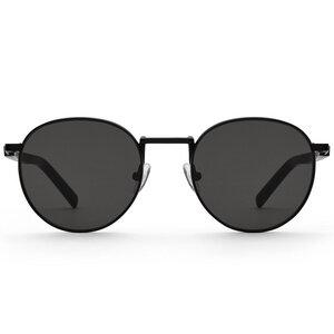 Sonnenbrille John Schwarzes Eichenholz - TAS - Take a shot