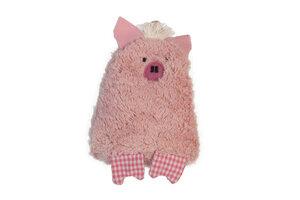 """Lavendelkissen """"Schwein"""", Lavendel/Dinkelkörner Kissen ,Farbe: rosa  - PAT & PATTY"""