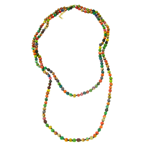 Kantha long Necklace - Worldfinds
