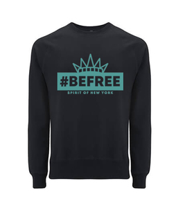 "be free – Unisex Sweatshirt ""Spirit of New York"" - be free shoes"