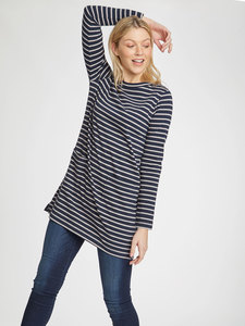 Langes Shirt - Ulla Tunic - Thought