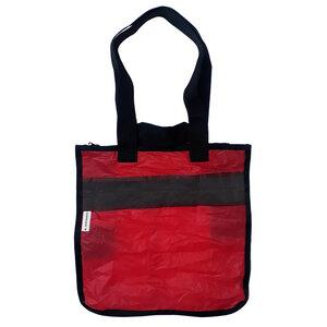 XXL bag / Strandtasche hergestellt aus gebrauchten Kite-Drachen UNIKAT - Beachbreak