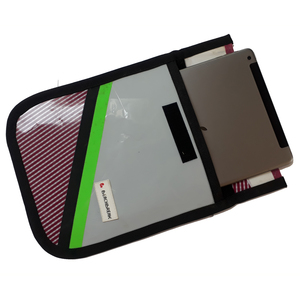 Tablet-Tasche mit abgerundeten Ecken hergestellt aus Surfsegeln  - Beachbreak