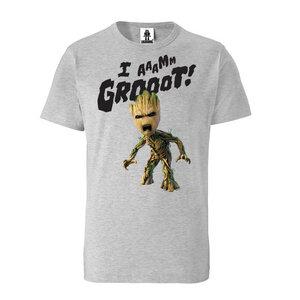 LOGOSHIRT - Marvel - Guardians of the Galaxy - Groot - T-Shirt Organic - LOGOSH!RT