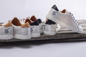 ANUTA ISLAND Damen  Sneaker - weiss, aus recyceltem Segel  - 8beaufort.hamburg