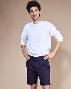 Sweatshirt TOULON RIB FOR MEN weiß - JAN N JUNE