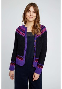 Strickjacke - Erin Fairisle Cardigan - People Tree