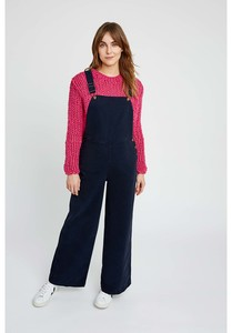 Latzhose - Coco Twill Dungarees - Navy - People Tree