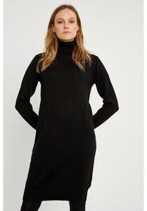 Rollkragen Kleid - Millie Knitted Dress - People Tree