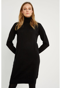 Rollkragen Kleid - Millie Knitted Dress - People Tree