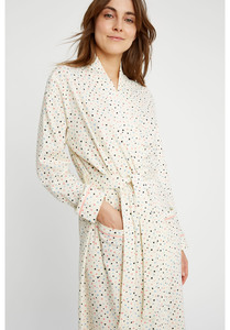 Morgenmantel - Heart Print Robe - People Tree