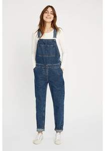 Latzhose - Brooklyn Denim Dungarees - Blue - People Tree