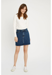 Jeans Rock - Catrina Denim Skirt - People Tree