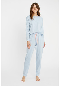 Pyjama Hose - Stripe Pyjama Trousers - People Tree