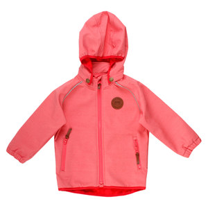 Mädchen Soft-Shell Jacke Polyester/Recycled Schadstofffrei - Fred's World by Green Cotton