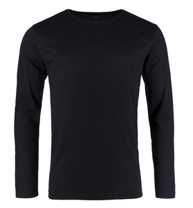 Pure Waste - Herren Long Sleeve T-Shirt, Black - Pure Waste