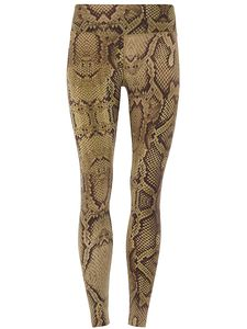 Yogahose - Fancy Leggings - Snake Print - Mandala