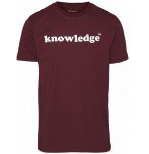 T-shirt - Knowledge printed O-Neck Tee - GOTS/Vegan - KnowledgeCotton Apparel
