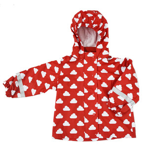 Baby / Kinder Regenjacke Polyester/Recycled Schadstofffrei - Fred's World by Green Cotton