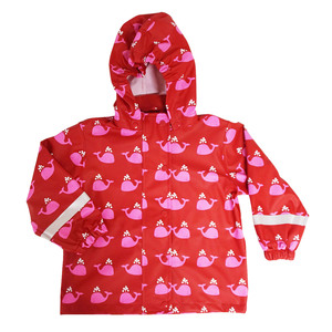 Kinder Regenjacke Polyester/Recycled Schadstofffrei - Fred's World by Green Cotton