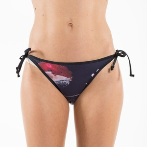 """Poppy Dark"" - Tie Tanga Bikinihöschen - Flying Love Birds"