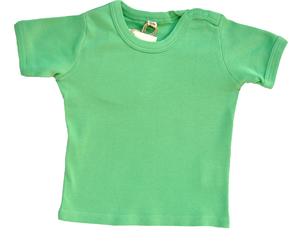 Leela Cotton Kurzarmshirt lindgrün - Leela Cotton