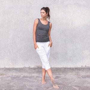 HELENA MELANGE - Damen - Top für Yoga aus Biobaumwolle - Jaya