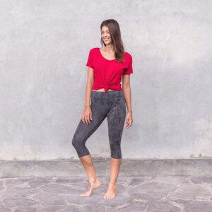 PHOEBE - Damen - lockeres Shirt für Yoga und Freizeit aus Viskose-Baumwoll-Mix - Jaya