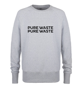 Pure Waste - Unisex Brand Sweatshirt - Pure Waste