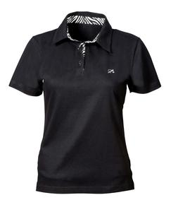 Polo-Shirt mit Print Damen - Levensgaarn