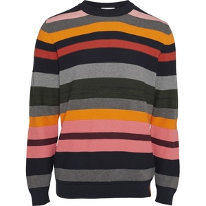 Striped O-Neck Knit GOTS - KnowledgeCotton Apparel