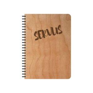 Servus Notizblock - echtholz