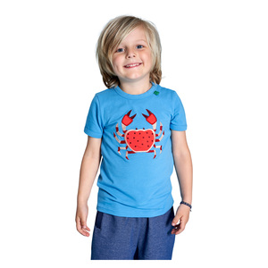 Kinder T-Shirt Krabbe  - Fred's World by Green Cotton