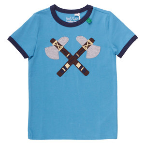 Kinder T-Shirt Indianer - Fred's World by Green Cotton